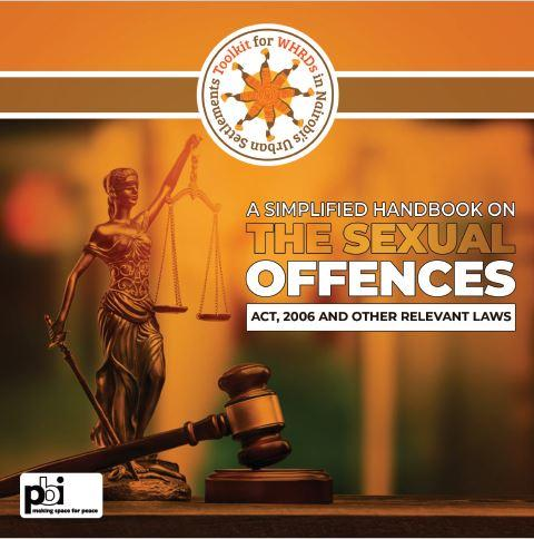 A simplified handbook on the Sexual Offences Act, 2006