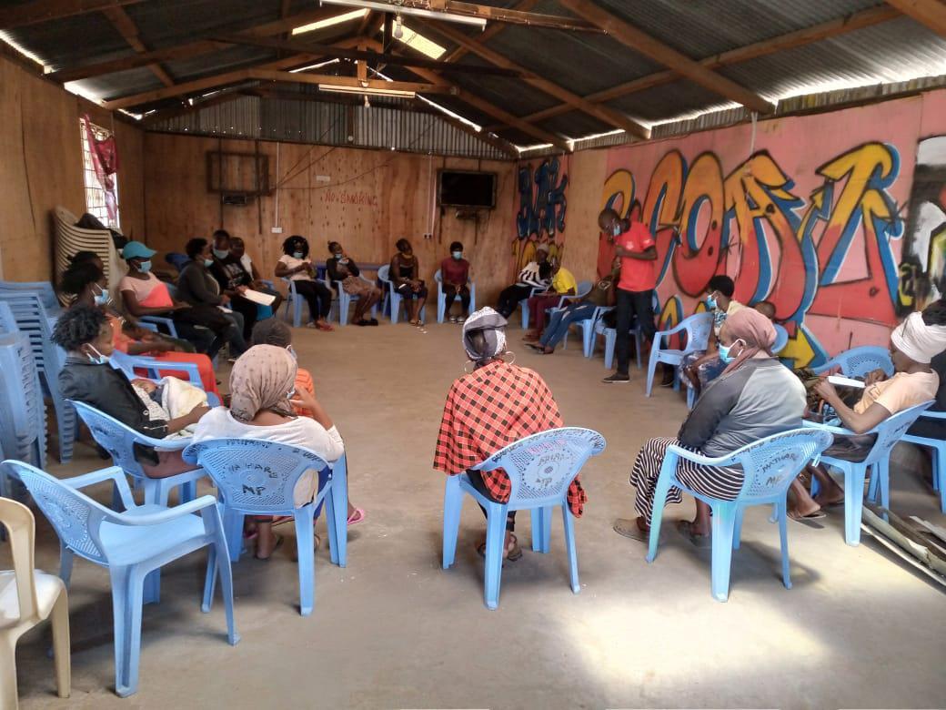 Mukuru town hall meeting on child pregnancies