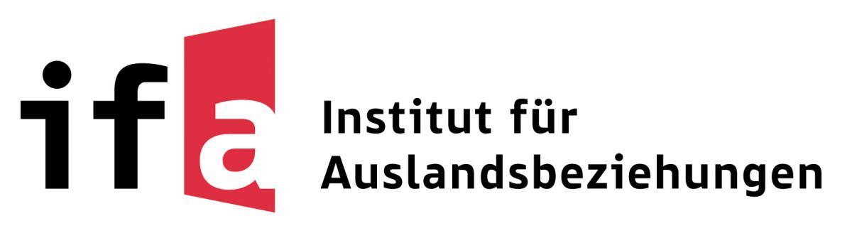 Supported with German Federal Foreign Office's funds by ifa (Institut für Auslandsbeziehungen), Funding Programme zivik